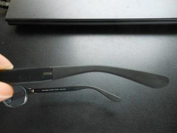 メガネのつる調整前