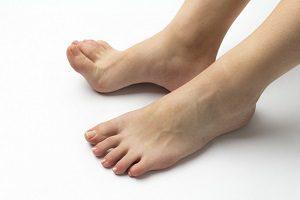 扁平足の原因:足の筋肉の衰え